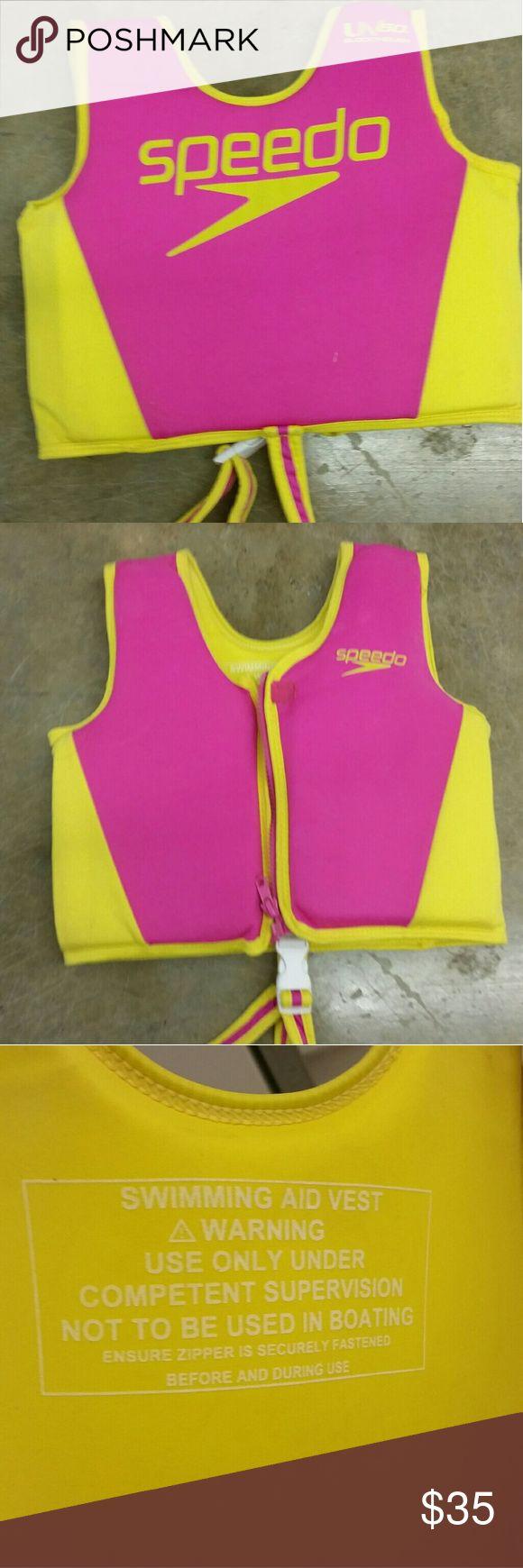 Speedo Neoprene Life Jacket Child Size  30-45 lbs Speedo Neoprene Life Jacket Child Size  30-45 lbs speedo Swim
