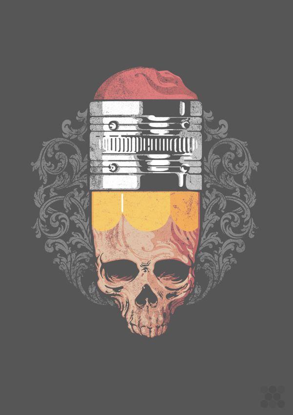 Illustrations, T shirt Designs on Behance - regardez un exemple de video brand content http://studiocigale.fr/films/?catid=1&slg=ratp-portrait-metier                                                                                                                                                                                 Más