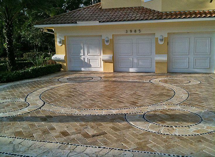 Nice driveway design hardscape patio design for Hardscape design