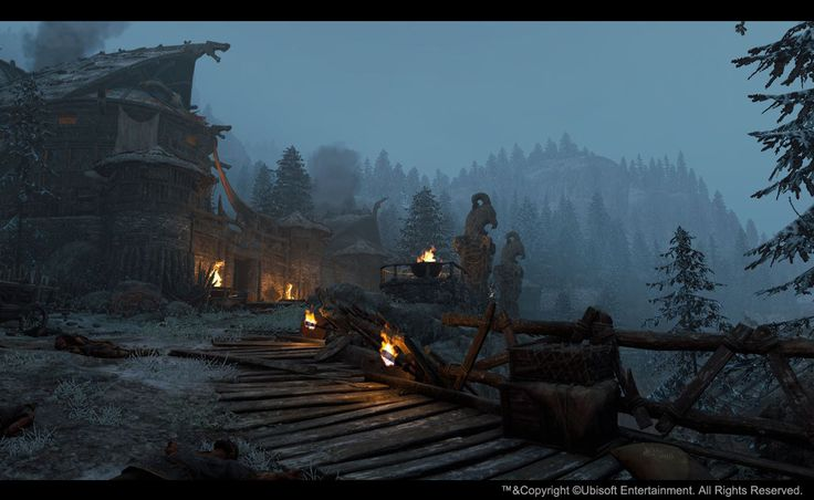 ArtStation - For Honor - single player campaing, Nathalie Marineau