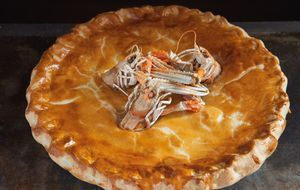Dublin Bay Prawn and Chicken Pie - The Happy Foodie