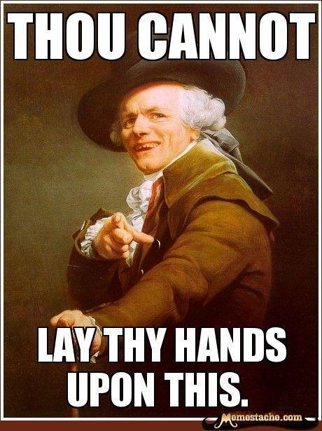 Joseph Ducreux Archaic Rap | Joseph Ducreux Meme http://ibeebz.com