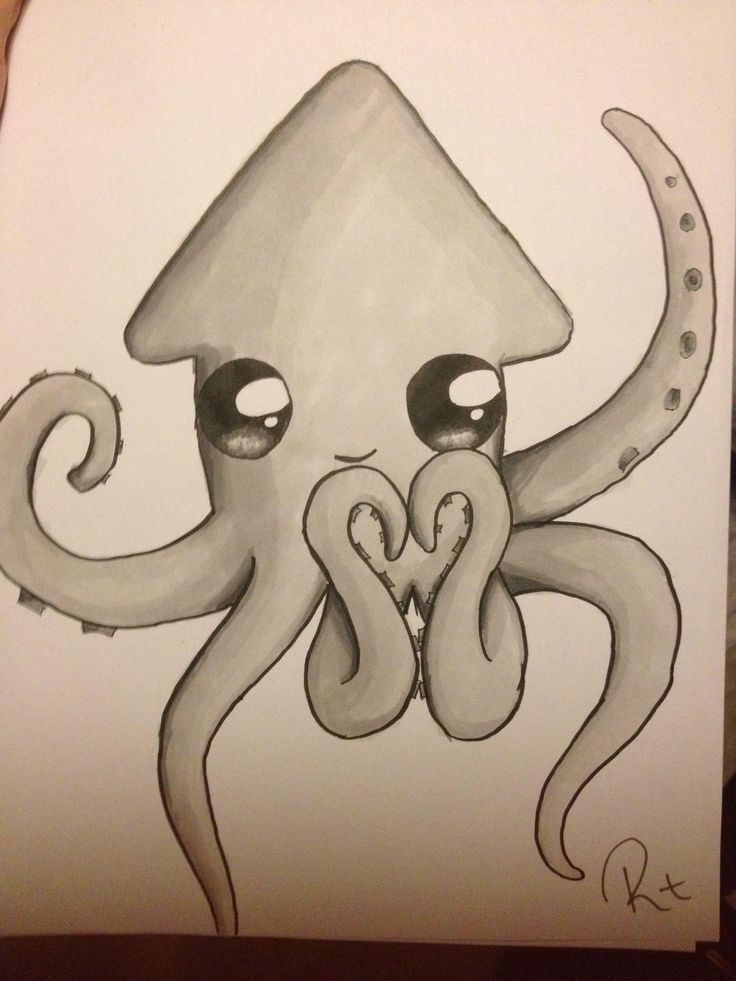 This reminds me of my friend Sydney and we call her Squid. Luv ya Squiddy!