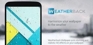 Weatherback Weather Wallpaper Pro v1.5.7.4  Jueves 8 de Octubre 2015.By : Yomar Gonzalez ( Androidfast )   Weatherback Weather Wallpaper Pro v1.5.7.4 Requisitos: 4.0 Información general: Nunca te aburrirás de su fondo de pantalla de nuevo. Mezclar el fondo de pantalla estática con los efectos del tiempo en una experiencia hermosa y artística. Weatherback Tiempo Wallpaper es la aplicación para Android perfecta de añadir una mirada realista y hermoso para el fondo de pantalla actual. Basta con…