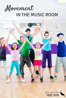 Movement in the music room: Three ways to get kids moving in your elementary music class!