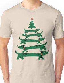 Dachsund Christmas Tree