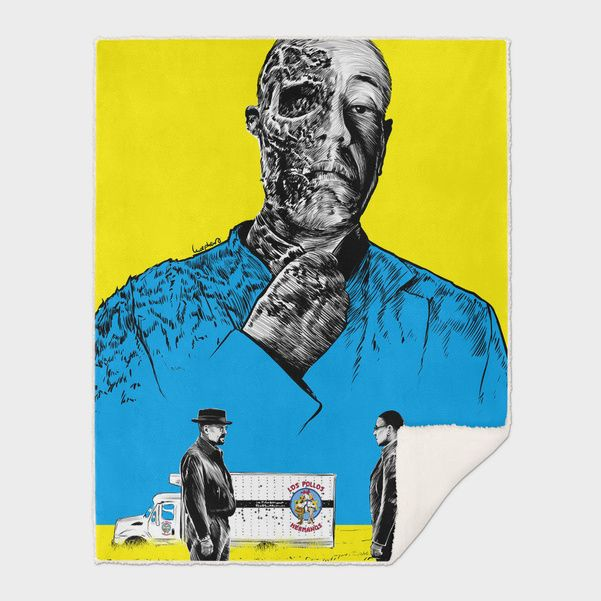 Discover «Breaking bad Gus Fring», Exclusive Edition Throw Blanket by Paola Morpheus - From 65€ - Curioos