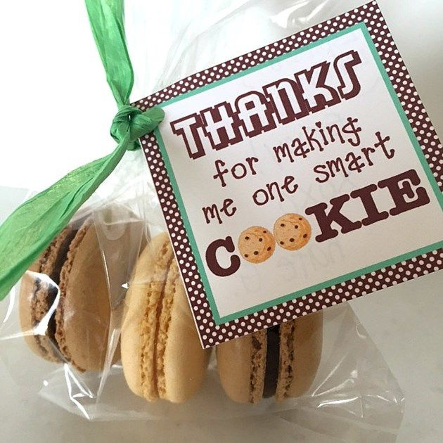 Teacher Appreciation Gift: One Smart Cookie with free printable