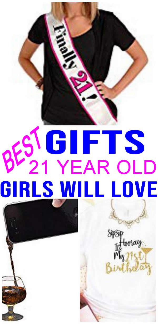 Top gift ideas that 21 yr old girls will love! Find presents   gift  suggestions for a girls 21st birthday…  f40f972482