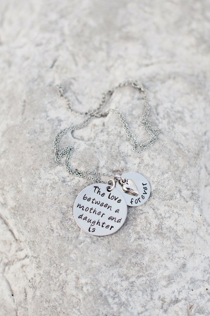 Mother-Daughter Necklace | On SMP - http://www.StyleMePretty.com/utah-weddings/2014/01/07/gold-peach-mother-daughter-bridal-inspiration/ Kristine Curtis Photography