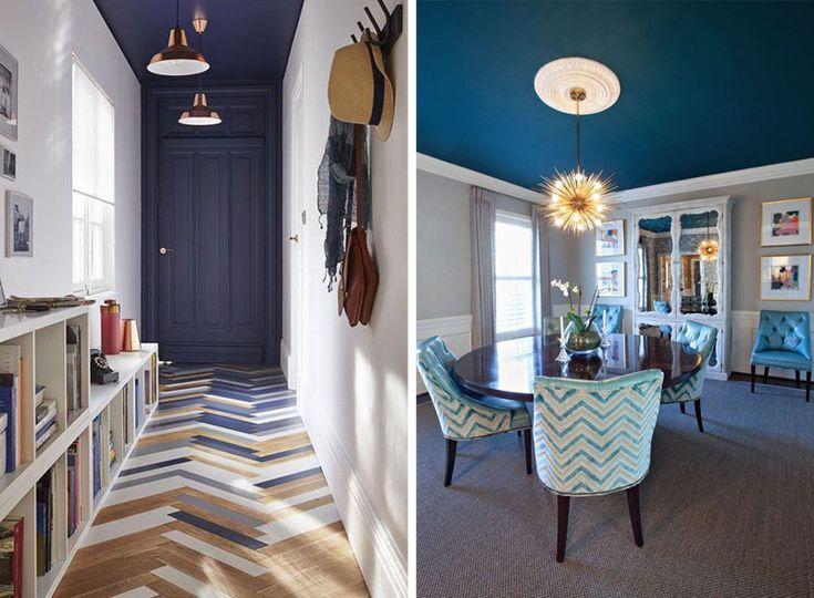 oltre 25 fantastiche idee su colore del soffitto su pinterest ... - Soffitto Grigio Scuro