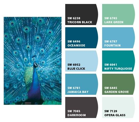 17 best ideas about mixing paint colors on pinterest for Best peacock blue paint color