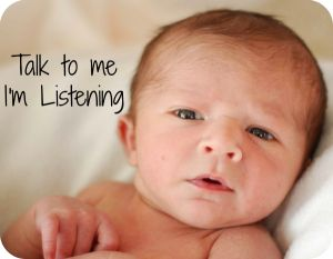 Your Child's Speech and Language at birth-6 months: their development and how to shape their skills. From Playing with words 365. Pinned by SOS Inc. Resources @SOS Inc. Resources.