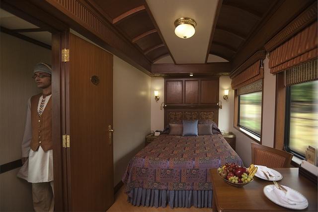 Maharajas Express Suites - Luxury train journeys