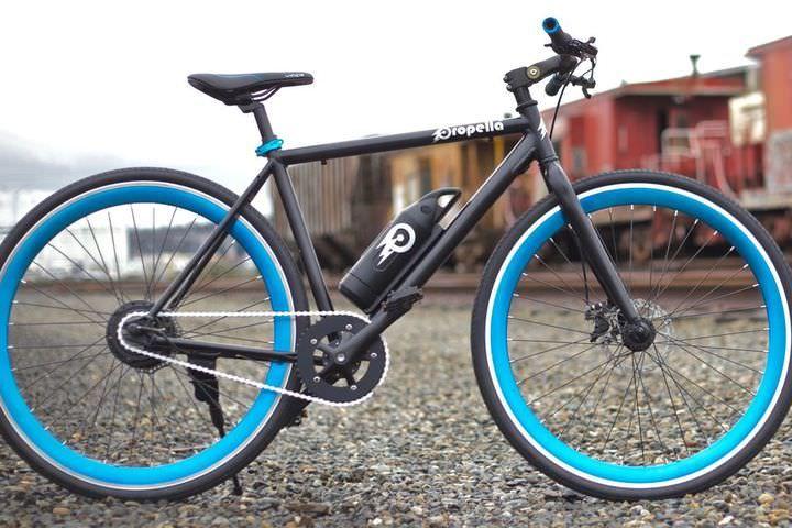 """電動アシストに見えるけど、ダサくない電動アシスト自転車「Propella 2.0」…""""隠す""""のではなく、""""別のものに見せる""""工夫 [インターネットコム]"""