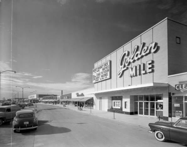 Vintage Toronto - Golden Mile Eglinton and Victoria Park, Ontario, CANADA