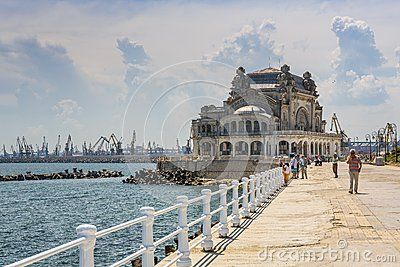 Casino Seawall, Constanta, Romania - Download From Over 24 Million High Quality Stock Photos, Images, Vectors. Sign up for FREE today. Image: 41275509