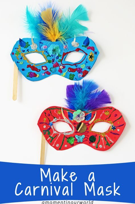 One of the biggest festivals in Rio, Brazil is the Carnival. So, let's get creative and make a Carnival Mask! Let your kids decorate these masks with lots of fun and colourful supplies! To make these bright and colourful Carnival Masks, you will need: Printable Carnival Mask Small colorful feathers Sequins Glitter Glue Glue Paddle pop …