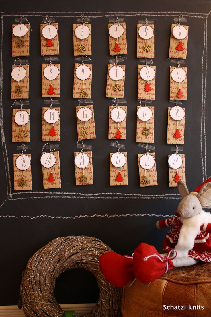 Our Advent Calendar, blogged about @ Schatzi's knits