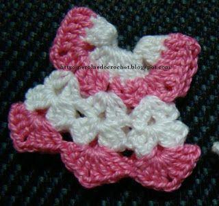 PAP: Mini vestidinho de crochet - Lembrancinha de maternidade - Ímã de geladeira