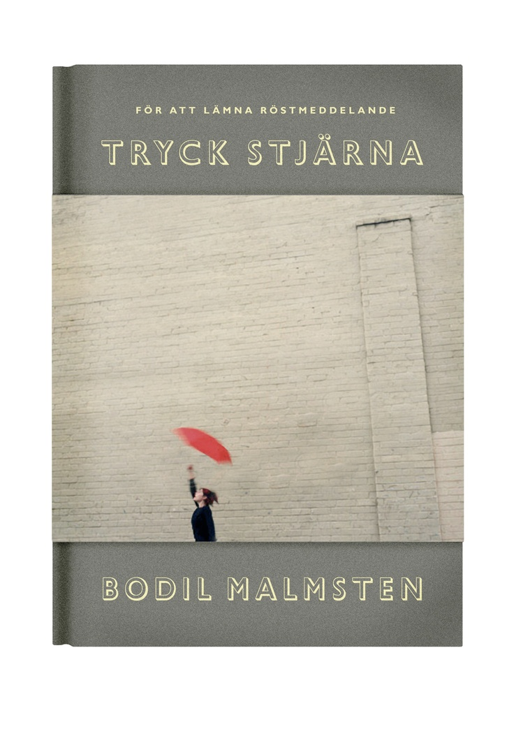 """Bodil Malmsten """"För att lämna röstmeddelande: TRYCK STJÄRNA"""" (Modernista 2005)"""