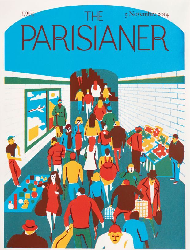 The Parisianer 5 novembre 2014.