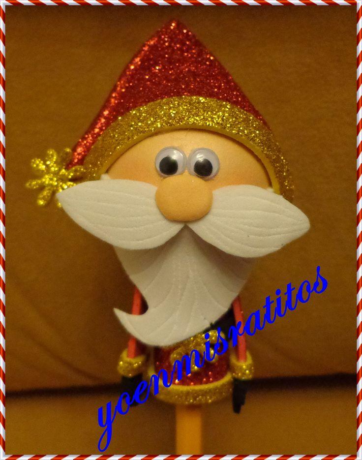 Fofulápiz Papa Noel
