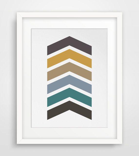 Best 25+ Chevron wall art ideas on Pinterest   Painting ...