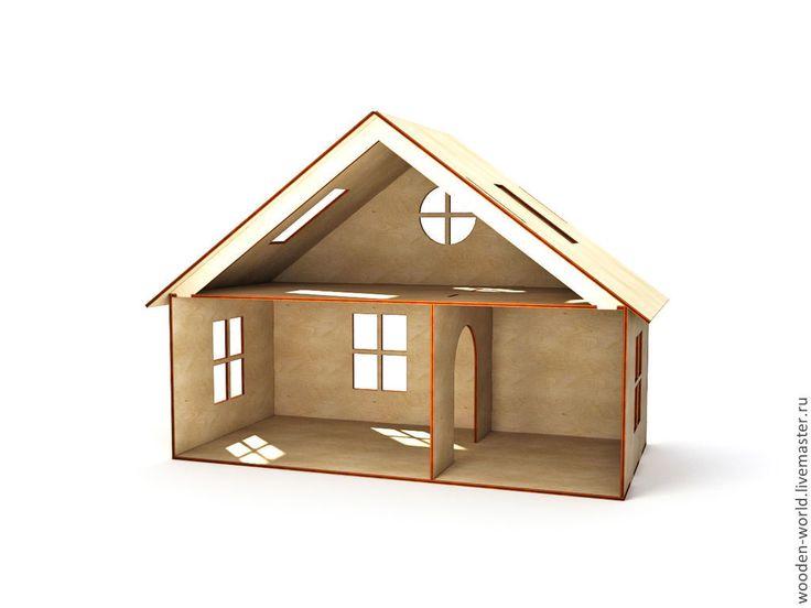 Кукольный домик - домик,игрушка,Мебель,мебель из дерева,мебель для кукол