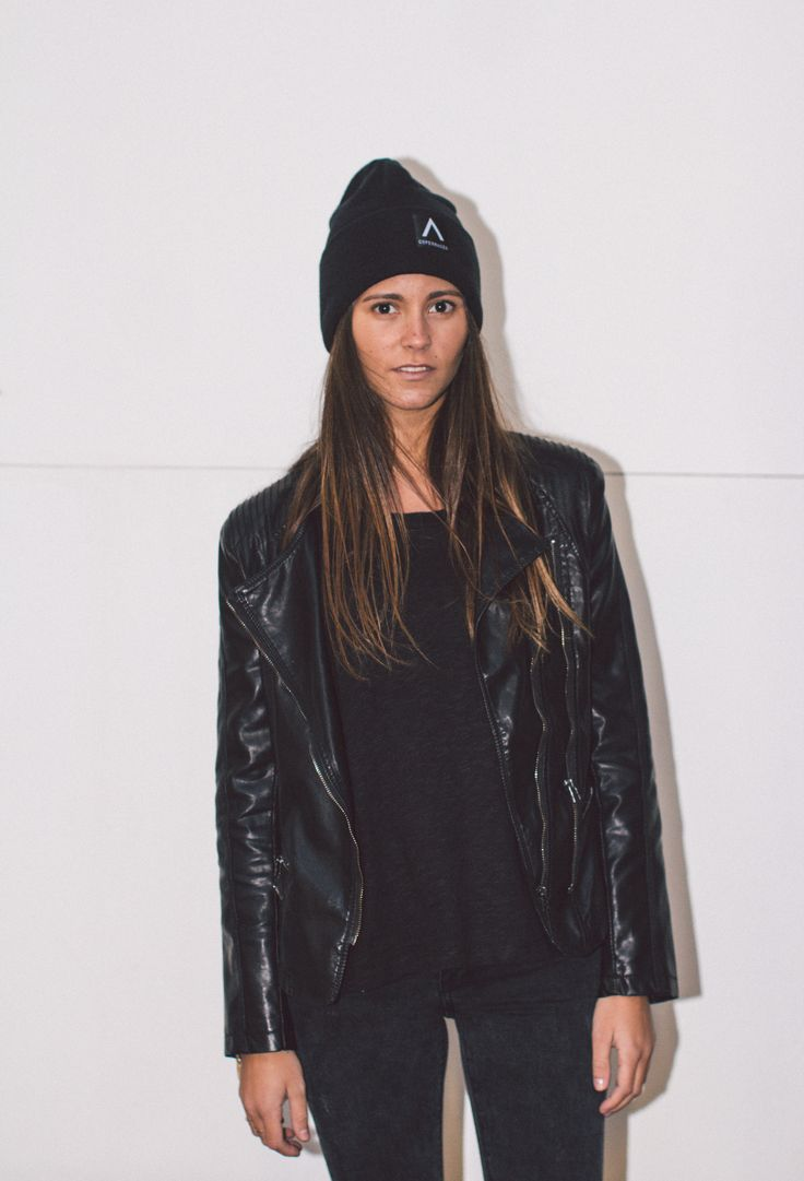 Unisex Black rolled up beanie from Audace Copenhagen - 100% Acrylic http://www.audace.dk/collections/beanies