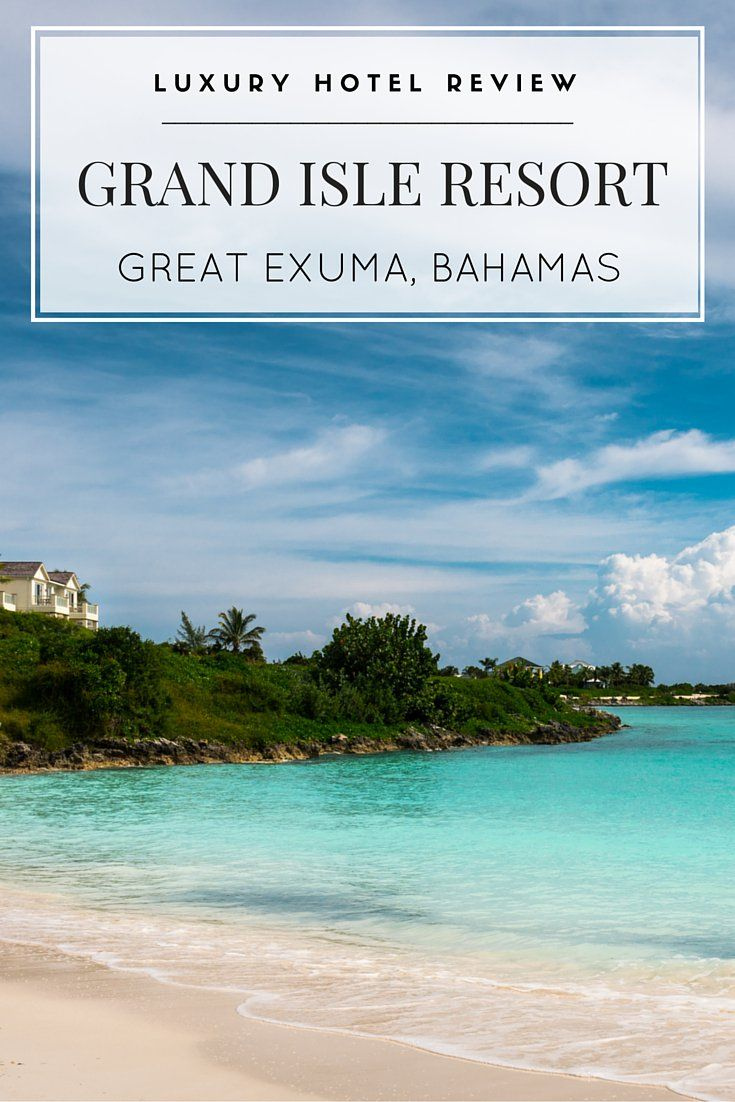 A review of Grand Isle Resort on Great Exuma island in the Bahamas, our base for swimming with the pigs!
