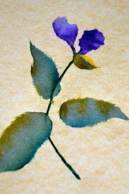 Japanese Torn Paper Art