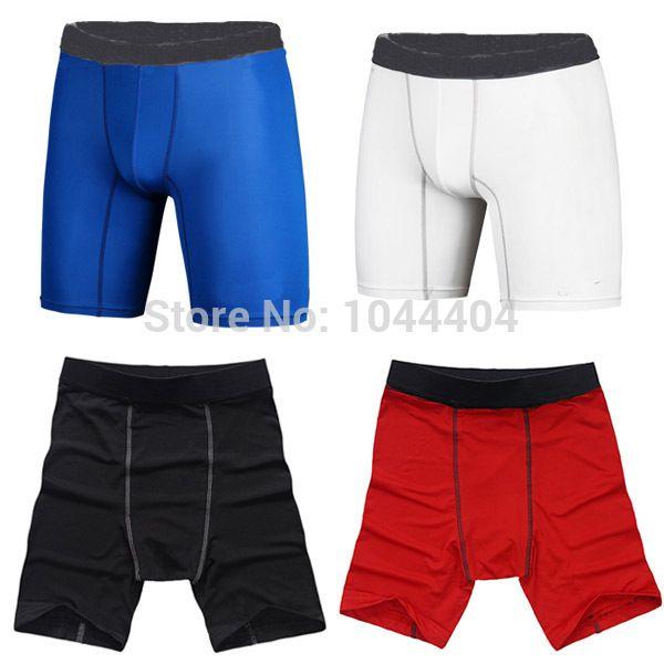 Quick Dry Мужчины Tight Шорты Сжатия Кожи Базовый Слой Цикл Спортивные Шорты Баскетбол Футбол Бег