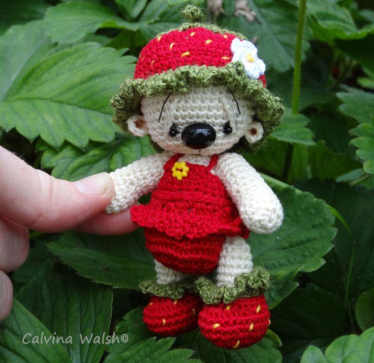 925 best ♡ Crochet Mini Bears ♡ images on Pinterest | Crochet bear ...