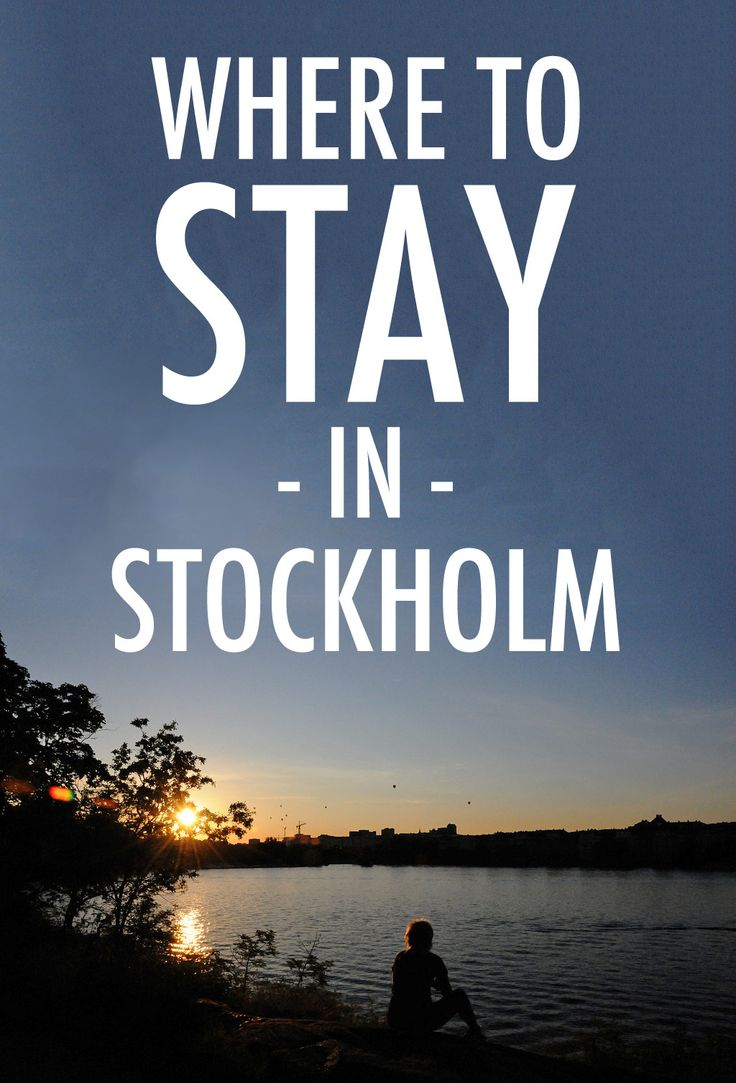 Wondering which part of Stockholm you should stay in? Let our neighbourhood guide show you the way!