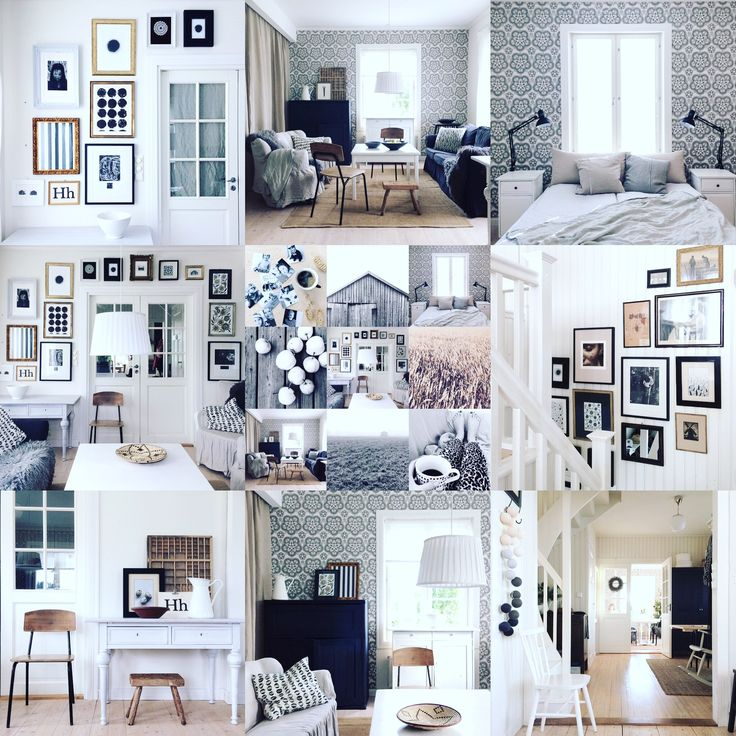 Interior moodboard. Nordic living and lifestyle. Simple. Monochrome. Interiors 2018. By Johanna Sandberg.