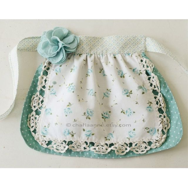 Little apron.  Jackie, the girls need these