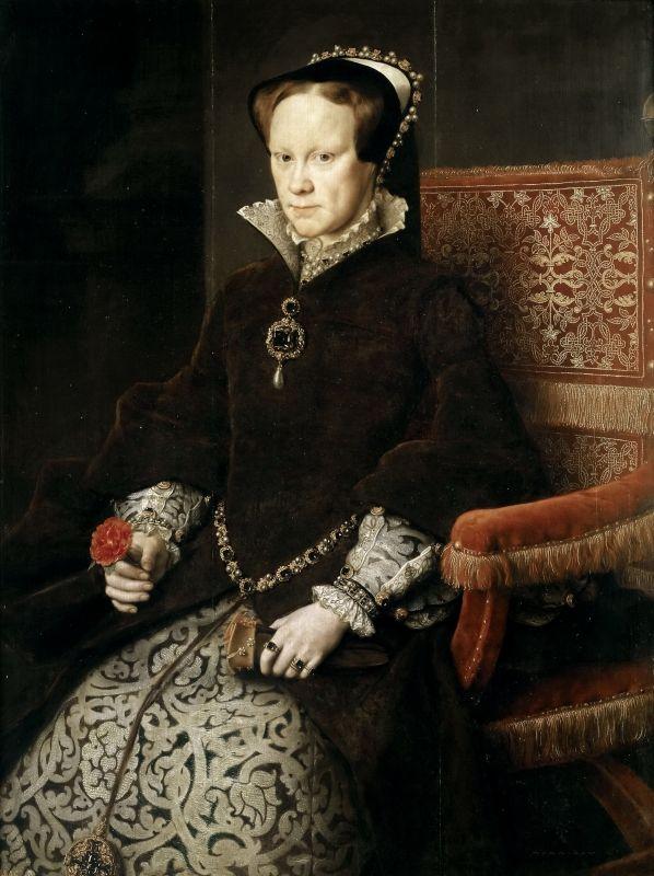 Мария Тюдор, королева Англии, вторая жена Филиппа II