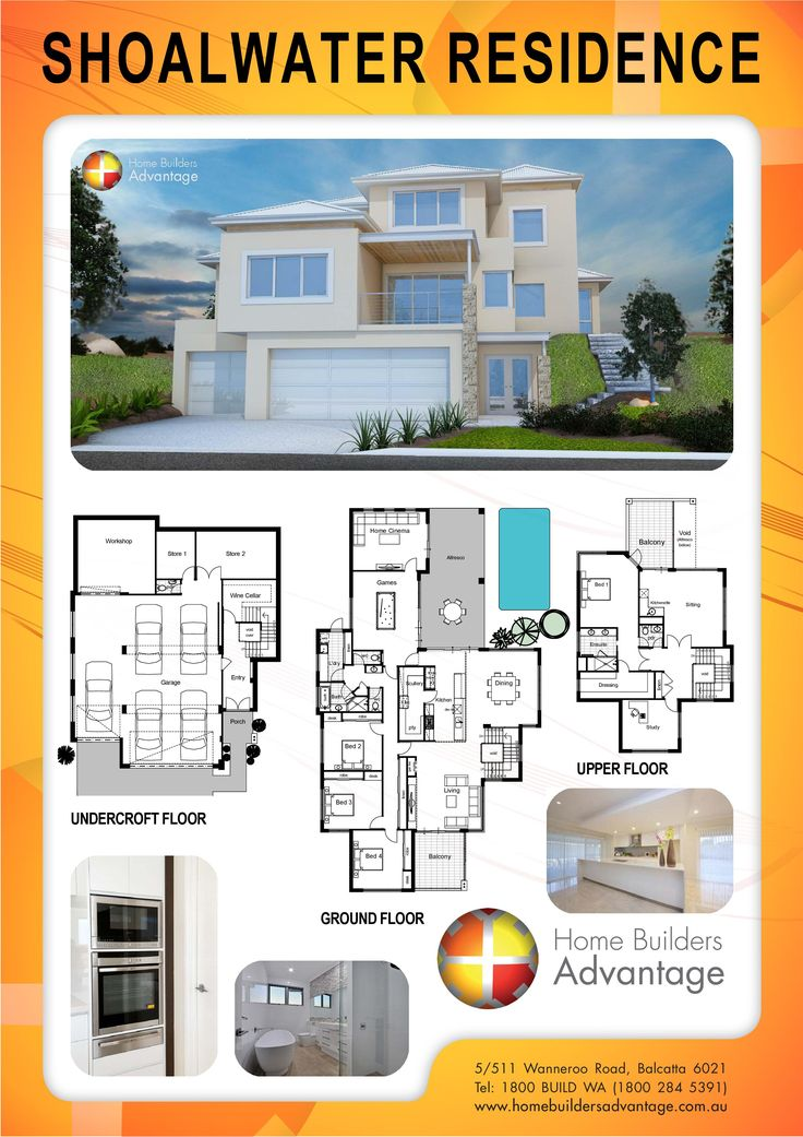 Home Builders Advantage- Perth's Biggest Building Broker- Three Storey Designs- www.homebuildersadvantage.com.au