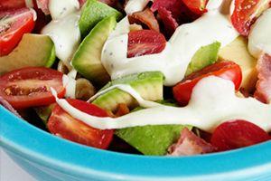 Bacon Avocado Tomato Pasta Salad with Avocado Ranch Dressing Recipe | California Avocado Commission
