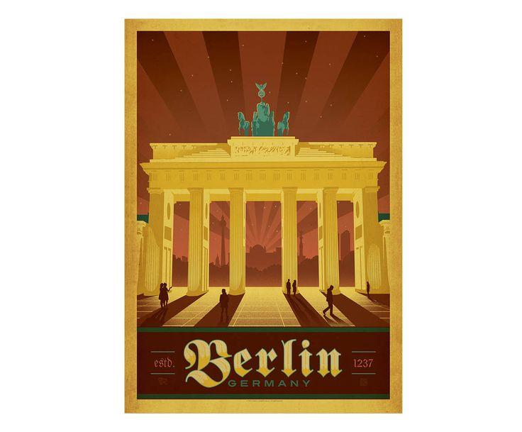 The Brandenburg Gate in modern
