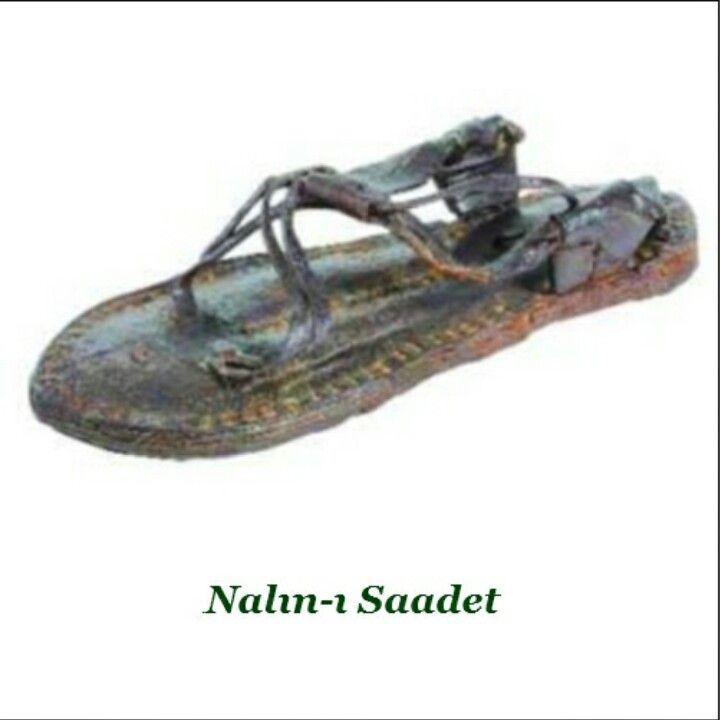 Hz.Muhammed'in sandaleti..