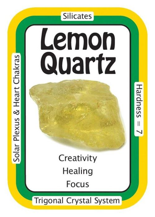 °Lemon Quartz ~ I creatively accomplish all my goals. Lemon Quartz, also known as Oro Verde Quartz, is Quartz that has been irradiated to achieve this beautiful Gold-Green-Yellow colour. The radiation treatment is not toxic in any way but it does have a high vibration & those who are very sensitive may find it to be too much. Use Lemon Quartz as a reminder to count your blessings as well as to usher in new opportunities for abundance. A good luck stone, Lemon Quartz lets you get through a…