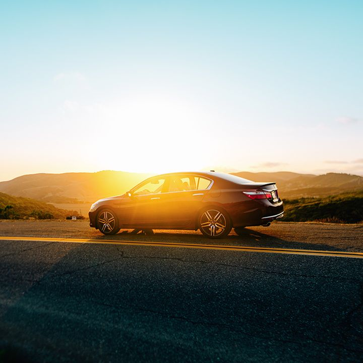 When the sunset calls, drive there in a 2016 Honda Accord with the available Honda Satellite-Linked Navigation System™.  Touring model shown.