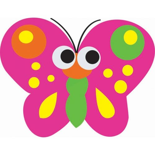 Magnetic Whiteboard Erasers, Butterfly, ASH10008