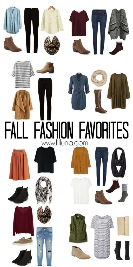 Major love for these fall outfits.