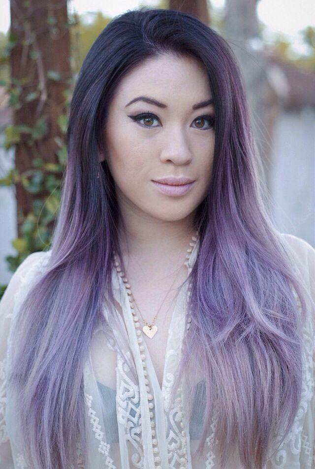 Best 20+ Purple grey hair ideas on Pinterest | Gray hair ombre ...