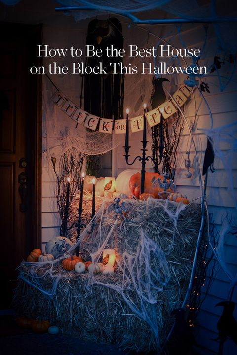 94 best Fall Decor Ideas images on Pinterest Christmas deco - best decorated houses for halloween