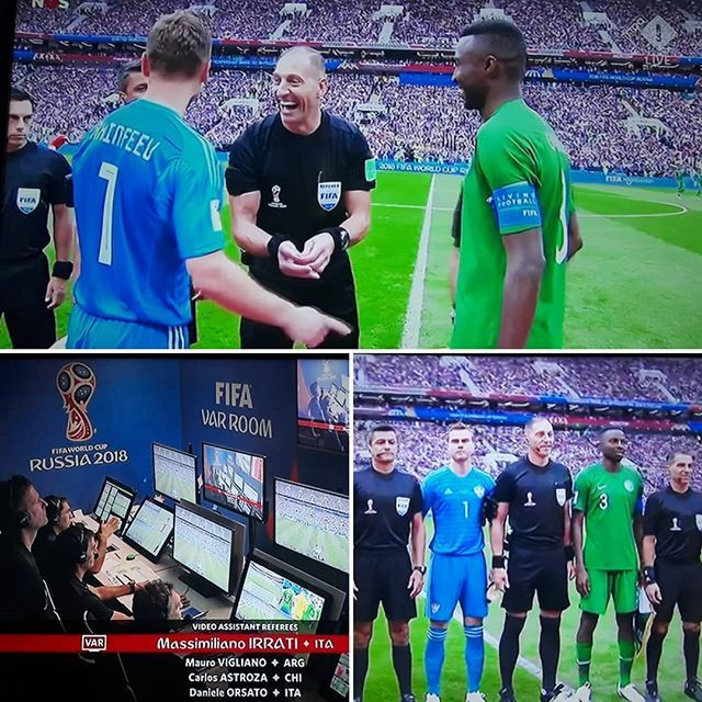 The World Cup Has Started Good Luck To All The Referees Who Is Watching