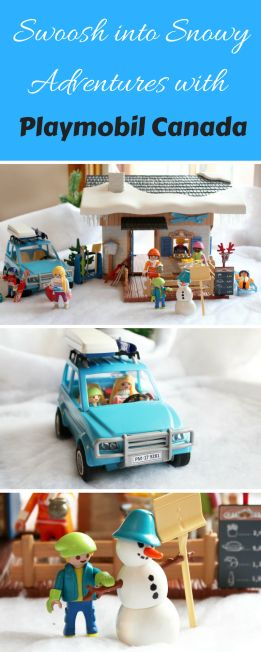 Swoosh into Snowy Adventures with Playmobil #Review #Giveaway